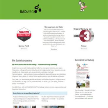 Projekt: Radweg